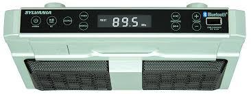 sylvania skcr2810bt bluetooth r undercounter kitchen radio