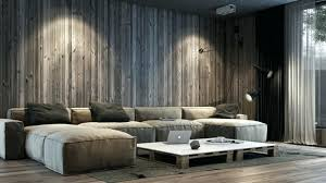 Wood Wall Living Room Panels Tiling Vertically Decorate Paneled
