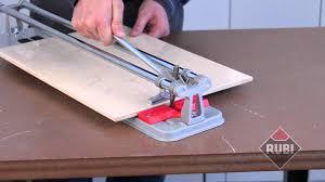 cortador rubi practic practic rubi tile cutter youtube