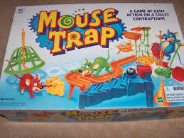 Mouse Trap 1999 Edition Board Game