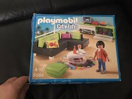 city wohnzimmer playmobil