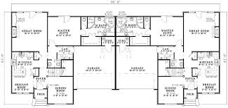 Images Duplex Housing Plans by Duplex House Plan 59318nd Architectural Designs