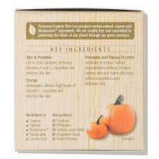 Pumpkin Enzyme Peel Before And After by Eminence Organic Skin Care Yam And Pumpkin Enzyme Peel Dermstore