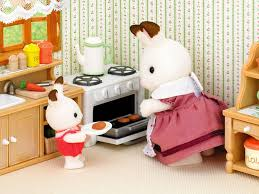 With Over 30 Detailed Pieces This Kitchen Furniture Set Has Everything Your Sylvanians Need To Kit Out The Most Important Room Of House