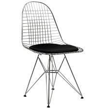 Vitra Eames DKR-5 Wire Chair - Seat Pad The Best Restaurants At Nearby The Eiffel Tower 80 Off Modernica Wire Chairs Amazoncom Ergo Furnishings Midcentury Conrad Grebel Montclair 7 Piece Ding Set With Boatshaped Oriental Fniture Waste Basket Seat Chair Household Modern Cafe White Table Delancey Gold On Rent Mw