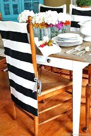 Diy Dining Chair Covers No Sew Back Cover How To Make Thumb Room