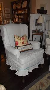 Stretch Suede Wing Chair Recliner Slipcover by Cute Wing Chair Slipcover U2014 Jen U0026 Joes Design Wing Chair Slipcover