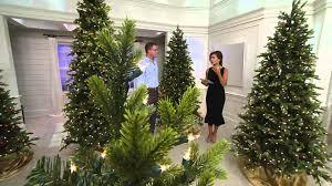 Slimline Christmas Trees With Lights by Bethlehem Lights 9 U0027 Noble Spruce Christmas Tree W Instant Power