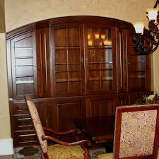 Custom Cherry Dining Room China Cabinet By Carolina Wood Designs