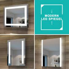 led badspiegel mit led beleuchtung badezimmerspiegel