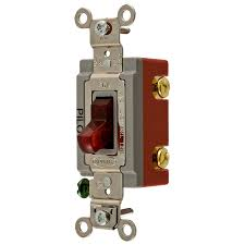 shop hubbell 15 20 single pole toggle indoor light switch