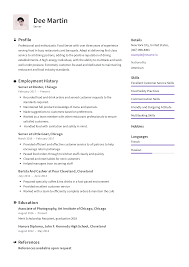 Server Resume Templates 2019 (Free Download) · Resume.io 85 Hospital Food Service Resume Samples Jribescom And Beverage Cover Letter Best Of Sver Sample Services Examples Professional Manager Client For Resume Samples Hudsonhsme Example Writing Tips Genius How To Write Personal Essay Scholarships And 10 Food Service Mplates Payment Format 910 Director Mysafetglovescom Rumes