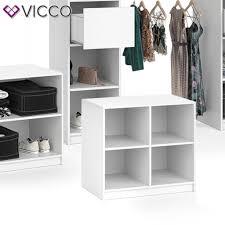 vicco kleiderschrank kommode groß visit viergeteilt sideboard regal schlafzimmer umkleide