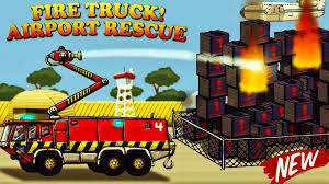 100 Truck Video Garbage S For Children L FIRE TRUCK Airport Rescue
