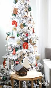 Flocked Downswept Christmas Trees by 430 Best Christmas Trees Images On Pinterest Christmas Ideas