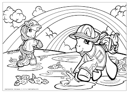 My Little Pony Unicorn Coloring Pages Getcoloringpages