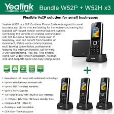 Yealink W52P + W52H X3 Cordless VoIP Phone PoE HD Voice And Base ... Panasonic Kxtgp500 Voip Ringcentral Setup Cordless Phone Siemens Gigaset A510 Ip Voip Dect Ligo Tutorial 24 Grandstream Cordless 5dp710 Cfiguration How To Get Free Service Through Google Voice Obihai Hdware Remote Communications Amazoncom Gigasetc530ip Hybrid Expandable Official Vtech Hotel Phones Cs64192 2handset 60 With Snom M9r Base Station On Csmobiles Top 10 Best For Office Use Reviews 2016 Flipboard A510ip Twin Choosing The Right Your Business Activepbx