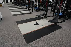 Recycled Rubber Sports Fitness Athletic Flooring