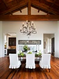 Slipcovered Dining Room Chairs Design Pictures Remodel Decor And Ideas