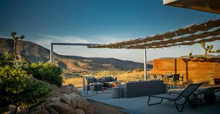 100 Mojave Desert Homes Cool Homestead Retreat With Vintage Trailer Brings Glamping To