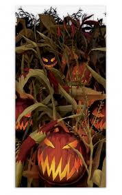 Halloween Scene Setters Uk by Halloween Evil Pumpkin Giant Room Roll Scene Setter Party Backdrop