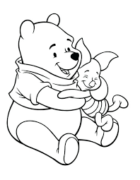 Free Winnie The Pooh Coloring Pages To Print Printable Christmas Best Colouring Sheets