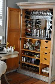 Make Liquor Cabinet Ideas by Best 25 China Cabinet Bar Ideas On Pinterest Bar Hutch Built