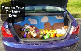 Trunk-or-Treat - Toy Story Style | Gigglebox Tells It Like It Is Here Are 10 Fun Ways To Decorate Your Trunk For Urchs Trunk Or Treat Ideas Halloween From The Dating Divas Day Of The Dead Unkortreat Lynlees Over 200 Decorating Your Vehicle A Or Event Decorations Designdiary Any Size 27 Clever Tip Junkie 18 Car Make It And Love Popsugar Family Treat Halloween Candy Cars Thornton