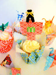 Make Origami Paper Cupcake Liners Dollar Store Crafts