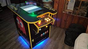 Mame Arcade Cocktail Cabinet Plans by Arcade Cabinet