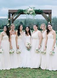 Light Blush Bridesmaid Dresses Weddingchicks