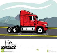100 Semi Truck Clip Art Trailer Truck Stock Vector Illustration Of Semi Lorry 16581647