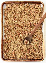 Pumpkin Flaxseed Granola Nutrition by Honey Almond Flax Healthy Granola Recipe