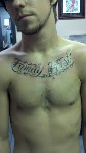 My First Chest Tattoo Family