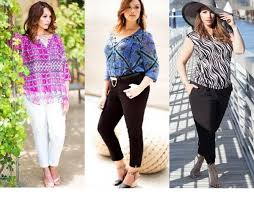 Spring Outfits Ideas For Plus Size Ladies Via Distressed BoyFriend Jeans
