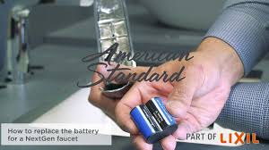 Kohler Touchless Faucet Battery by How To Replace The Battery In The Nextgen Selectronic Commercial