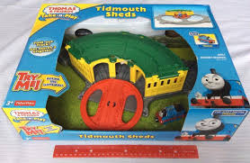 Thomas The Train Tidmouth Sheds Playset by Thomas U0026 Friends Fisher Price Thomas The Train Take N Play