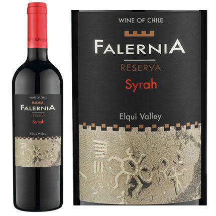 Falernia Syrah Reserva, Chile (Vintage Varies) - 750 ml bottle