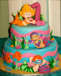 Bubble Guppies Cake Decorating Kit by Bubble Guppies Cake For A Special Little U0027s 1st Birthday