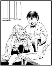 Apostles Coloring Pages See More Encouragement In Prison Maybe Onesiphorus And Paul II Timothy 116 Or