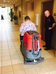 Riding Floor Scrubber Training by Heartland Paper Company Betco Micro Rider Heartland Paper Company