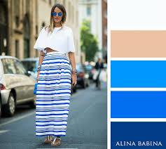 Blue And White Stripe
