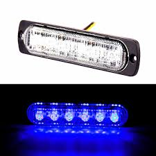 Bright Blue 6-LED Car Truck Van Side Strobe Light Warning Flasher ... Light Truck Strobe Ford Expands Firstever Factoryinstalled Warning Led Lights 12v 24v 18w 6 Waterproof Car Emergency Beacon Cyan Soil Bay 4 Rv Flash Bar 2016 F150 Adds Builtin For Fleet Vehicles Hideaway Automotives Hideaway Mini Vehicle Trailer Round Led For Trucks 4428 Watch Now Accsories 54 Blue Red Nwhosale New 2 X 48 96led Flashing 4led 19 Function Parts 26422rd Recon 2x22 Flasher Lamp Bars With