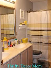 bathroom gray and yellow bathroom on pinterest toilet room