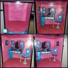 Monster High Bedroom Set by Rias World Of Ideas Trash To Treasure Monster High Doll House On