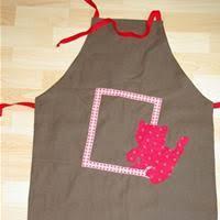 coudre un tablier de cuisine tablier réversible en tissu patron couture gratuit