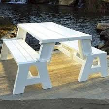 picnic table benches foter