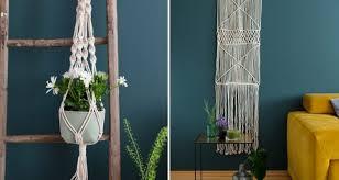 trend greenery deko mit makramee pflanzen i schön bei dir