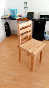 Rustic Wooden Pallet Chair