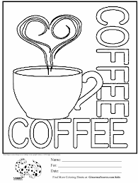 Ultimate Cute Starbucks Coloring Pages